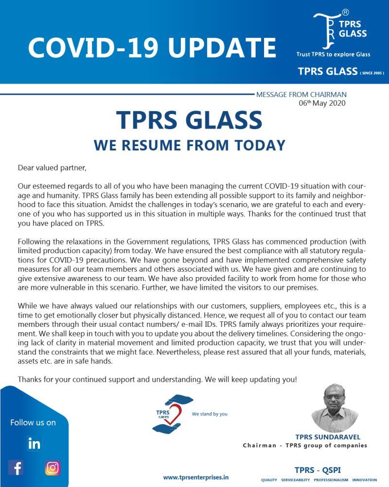 TPRS resuming